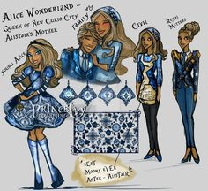 Alice Character Design by PrinceIvy-FreshP on DeviantArt