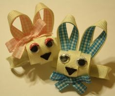 Agape Love Designs & Photography: Mr. & Mrs. Easter Bunny Ribbon Sculpture Tutorial! - in desperate need of this tutorial!!  Thanks