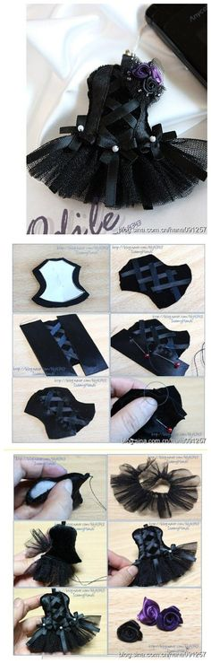 Corset - This is so stinking cute. Now if I can only follow the picture directions since it's in Chinese I believe.
