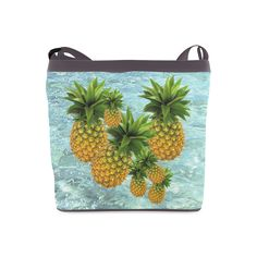 Pineapples Crossbody Bag. FREE Shipping. #artsadd #bags #fruits