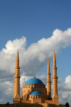 Khatem Al Anbiyaa Mosque, Beirut , Lebanon > By Alika