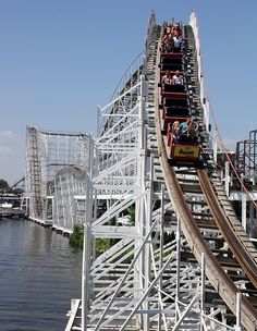 Hoosier Hurricane - Indiana Beach Remember riding this the first time after it was built! Love my hometown!