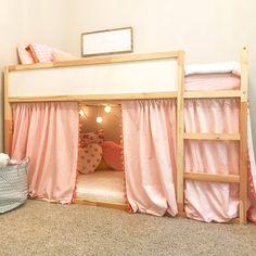 Kids Bedroom Designs, Room Design Bedroom, Room Ideas Bedroom, Kids Room Design, Bedroom Decor, Cool Room Designs, Loft Bed Room Ideas, Ikea Room Ideas, Small Girls Bedrooms