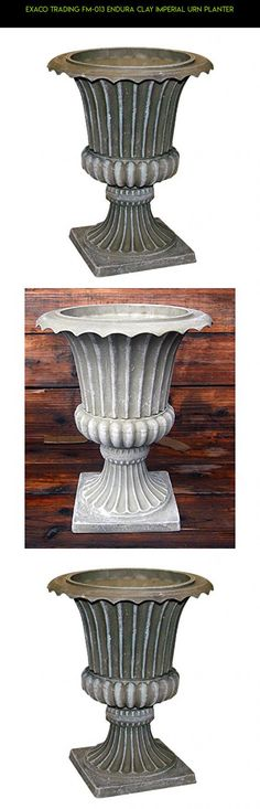 Exaco Trading FM-013 Endura Clay Imperial Urn Planter #products #camera #kit #plans #urns #gardening #fpv #drone #tech #parts #gadgets #racing #technology #shopping