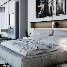Duvarlarınızı Güzelleştirecek Niş Modelleri-50 Adet   Evde Mimar Diy Home Decor Bedroom, Modern Bedroom Furniture, Modern Bedroom Design, Luxury Home Decor, Contemporary Bedroom, Modern House Design, Bedroom Ideas, Bedroom Loft, Master Bedrooms