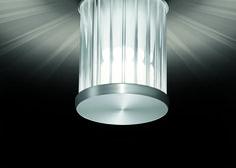 beam . outside luminaire . Außenleuchte . wall luminaire . Wandleuchte . aluminium brushed, anodized, borosilicate glass . Aluminium gebürstet, eloxiert, Borosilikatglas