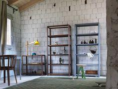 Scaffale in legno massello PINA by Miniforms | design Studio Zaven