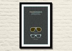 True Romance Movie Poster Art Print 11 X 17 by LiltDesignCompany