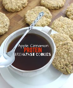 GIVEAWAY + a recipe for Apple Cinnamon Protein Breakfast Cookies made with my favourite @PlantFusion Protein Powder!