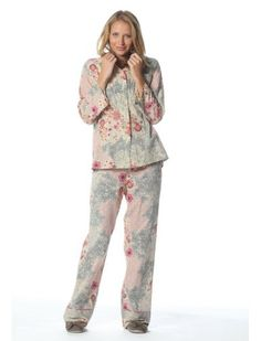 Papinelle cotton voile pajama. Such a beautiful fabric.