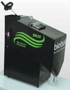 BioBot BB20 - turn your waste kitchen oil into car bio diesel with this low cost home desktop device