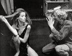 Verushka Von Lehndorff & David Hemmings in Blow-up