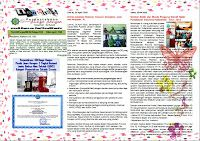 Perpustakaan Bunga Bangsa ƸӜƷ: News Letter April 2016