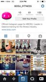 Make sure to follow The Official BOSU® Instagram @bosu_fitness for more BOSU pictures, products, and workout ideas! #bosufitness #hedstromfitness #bosuinstagram #fitforlife