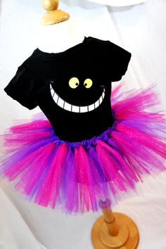 SALE***Cheshire Cat Tutu and Tee Set Adults & Children Listing