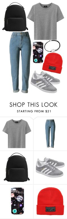 """TØP love"" by marielaznickova on Polyvore featuring MANGO, adidas Originals, Nikki Strange and Alex and Ani"