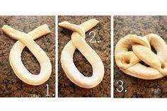 Easy homemade pretzel recipe.