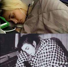 Paris and Michael Jackson Sleeping
