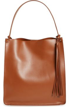 Sole Society Karlie Faux Leather Bucket Bag available at #Nordstrom