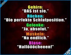 Alles wieder von vorne...  Lustige Sprüche #Humor #1jux #Sprüche #Jodel #lustigeSprüche #einschlafen #Schlaf #SpruchdesTages