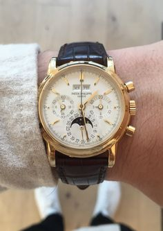 One of the most beautiful chronographs ever made: the Patek Philippe 3970J.