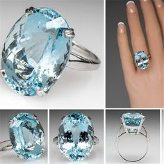 Buy Luxury Big Oval CZ Crystal Rings for Women Bridal Wedding Party Silver Color Charms Rings Engagement Fashion Jewelry anillos Gemstone Engagement Rings, Gemstone Rings, Ring Engagement, Womens Jewelry Rings, Women Jewelry, Wedding Jewelry, Fashion Rings, Fashion Jewelry, Gothic Fashion