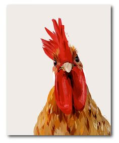 Courtside Market Chicken or The Egg? Wrapped Canvas | zulily