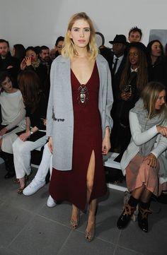 Alexa Chung at Ashley Williams London Fashion Week Show