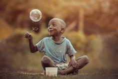De onschuld van kids vast gelegd in prachtige plaatjes