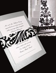 22 Things Your Boss Needs To Know About Luxurious Invitations Silver Wedding Invitations, Diy Invitations, Invitation Ideas, Invite, Wedding Wall, Dream Wedding, Wedding Things, Wedding Stuff, Wedding Planning