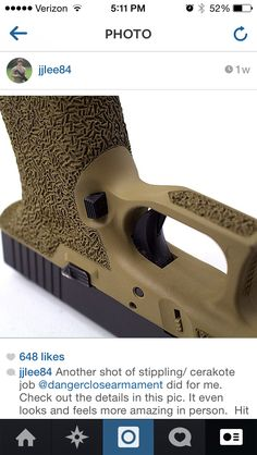 Stipple glock