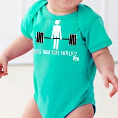 Aunt life! Lift! Crossfit!