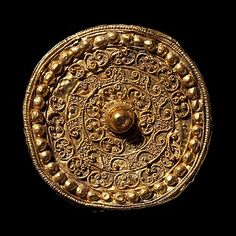 Ear-stud, Etruscan, 6th century BC (Thorvaldsens Museum) Inventory number H1873