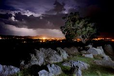 Approaching Storm, view from Old Saleyards hill, Mudgee. Photo by Amber Hooper. First Photo, Amber, Mountains, Landscape, Places, Projects, Photography, Travel, Outdoor