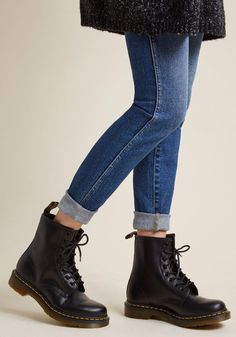 I Like How You Lean Leather Boot | ModCloth #DocMartensstyle
