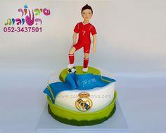 עוגת שחקן כדורגל רונלדו מאת שיגעון העוגות ronaldo cake by cakes-mania - www.cakes-mania.com