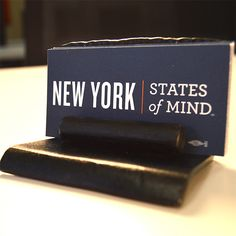 Capital Region-Made Hand-Forged Steel Business Card Holder