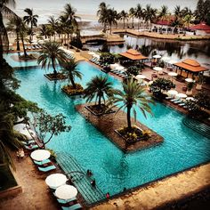 Dusit Thani Hua Hin Hotel(: Located in Thailand!