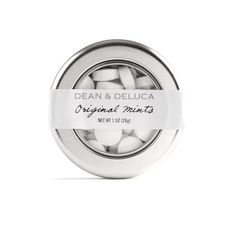 DEAN DELUCA Original Mints featuring polyvore, fillers, food, food and drink, other, stuff, circle, round and circular