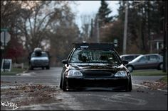 Idk what's on top but the stance of this civic.. oowee