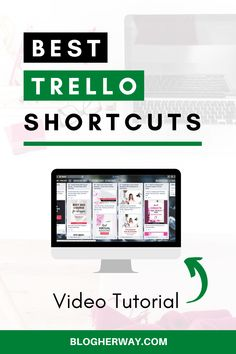 Check out these Trello shortcuts to improve your work productivity. Trello is a great online work productivity tool to help your organize your blog and online business. Keyboard shortcuts are a great way to be productive when working with Trello. Click to learn more with free video training on how to use Trello shortcuts. #trellotips #blogtips Effective Time Management, Time Management Strategies, Management Tips, Business Advice, Online Business, Work Productivity, How To Stop Procrastinating, Blogger Tips, Online Work