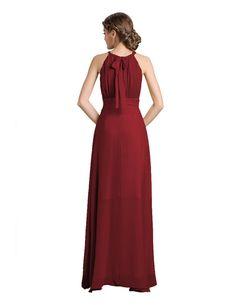 68f7a590c8d Denovelty Women s Halter Evening Prom Formal Party Bridesmaid Maxi Long  Dress  Amazon Fashion