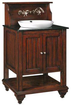 open bathroom vanity | Virginian Sink Cabinet - Bath Vanities - Bath | HomeDecorators.com
