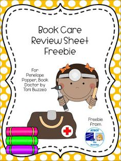 The Book Bug: Lesson Freebies Kindergarten Library Lessons, Library Lesson Plans, Elementary School Library, Library Skills, School Lessons, Library Books, Elementary Schools, Library Ideas, Parts Of A Book