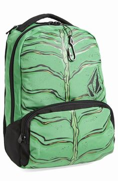 Free shipping and returns on Volcom 'Creature' Backpack (Boys) at Nordstrom.com. Why settle for an ordinary backpack when there's Volcom's Creature backpack, which definitely lives up to its name with a spooky-cool hood that folds up into a convenient stowaway pouch.