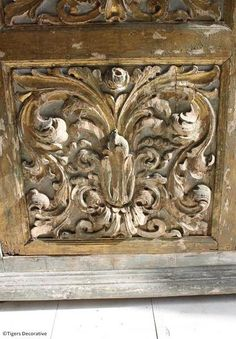 Gilt & Painted French Cupboard, Antique Cupboard, French Furniture, Antique Carving, 17th Century Furniture, Gilt Cupboard, Available @Tigers Decorative