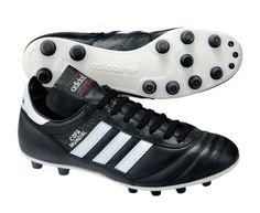 Classic Adidas soccer boot with soft leather upper and firm ground outsole that were released in Made in Germany. Adidas Soccer Boots, Football Boots, Adidas Sneakers, Soccer Store, Football Pictures, Snowboard, Leather, Shopping, Rugby