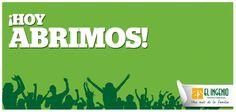 #Domingo de disfrutar en tu Centro Comercial El Ingenio porque ¡HOY ABRIMOS! ;)