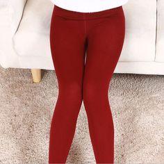 2016 S-XL 5 Colors Autumn-Winter Warm Women Leggings