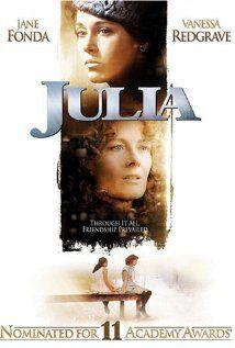Julia (1977)  Jane Fonda, Vanessa Redgrave and Jason Robards